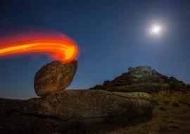 Rock of fire. Sierra de Béjar
