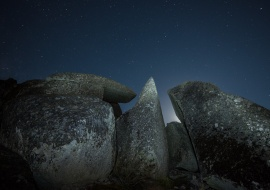Megalitic night. Sierra de Béjar