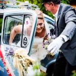 Llegada novia reportaje de boda en Cantabria