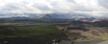 PANORAMICA DEL HVERFJALL CRATER  –  NORD D'ISLANDIA – VOLTANS DEL LLAC MYVATN