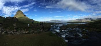 PANORAMICA DE KIRKUJUKFELL – PENÍNSULA DE SNAEFELLSNES  -   OEST D'ISLANDIA