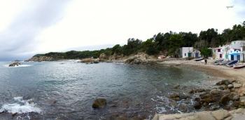 S'Alguer, al fons Cap de Sant Esteve