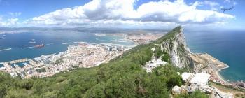 Gibraltar - platja dels catalans /Badia d'Algecires