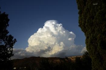 Nuvol des de el riu Matarranya - Nonasp