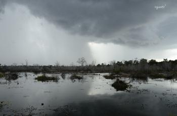 Tempesta i contrallum - Angkor - Cambodja