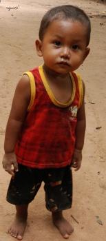 Nen, als voltant del temple de les dones – Siem Rap