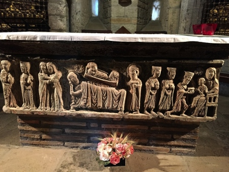 CATEDRAL DE ISABENA -  sepulcre de Sant Ramon de Roda,