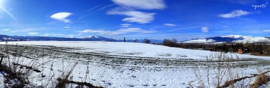 Panoràmica de la Cerdanya totalment nevada