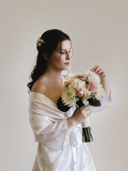 novia preparativos boda