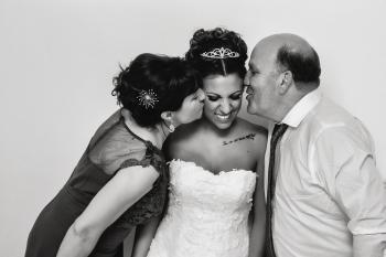 los padres de la novia