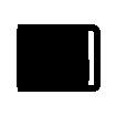 Bailarina con maleta y vestido rojo