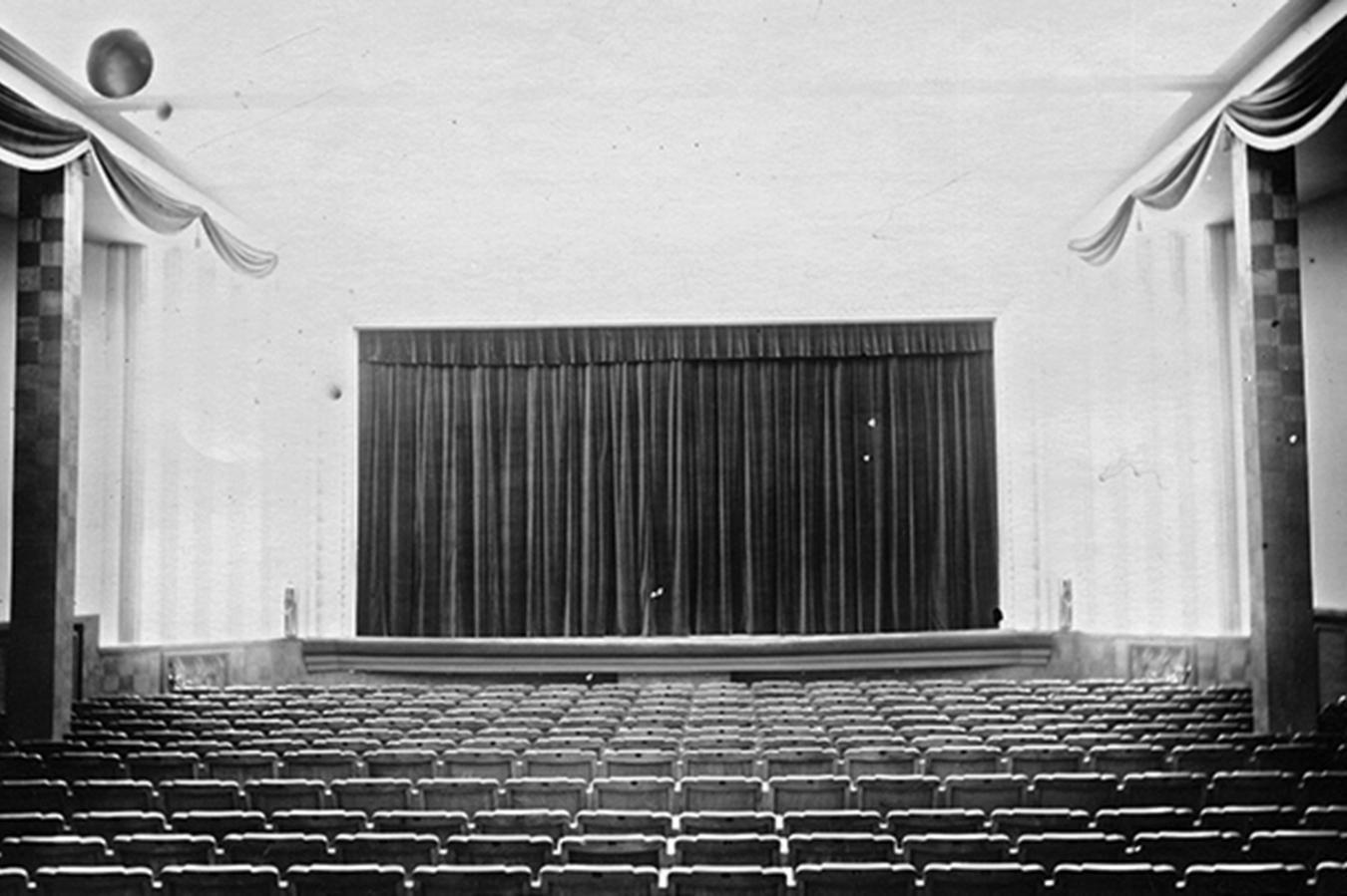 Cine. Santa Bárbara, años 40 - Niebla (2018) - Ana Frechilla, proyecto fotográfico
