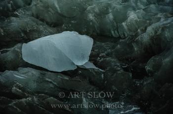 Texturas heladas - Glaciar Eqip Sermia, Greenland. Edición: 10/10 + 2P/A