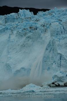 Corazón roto,  - Glaciar Eqip Sermia, Greenland. Edición: 10/10 + 2P/A