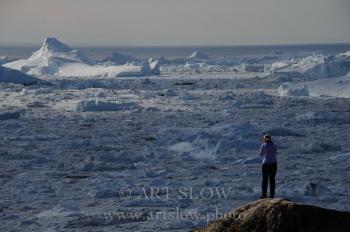 Wow - Glaciar Sermeq Kujalleq, Bahía de Disko, Ilulissat, Greenland. Edición: 10/10 + 2P/A
