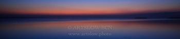 Hora azul en la Playa de la Marquesa en el Delta del Ebro, Tarragona-Catalunya; ref: 1604-9915