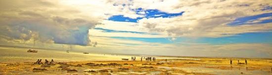 sunrise wimby beach- Pemba