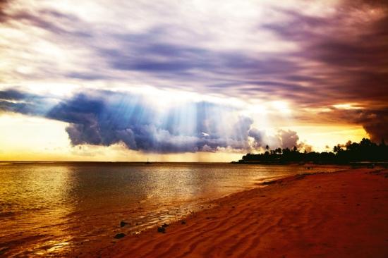 sunrise wimbby beach- Pemba