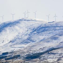 Sierra del Tablao nevada