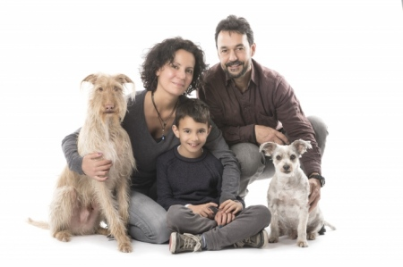 Fotografía de Perros y familias en Madrid