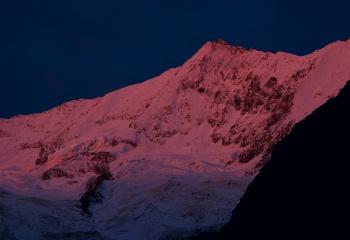 Resplandor alpino