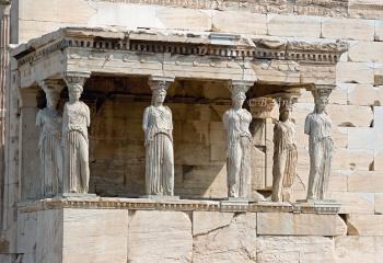Cariátides - Acrópolis de Atenas