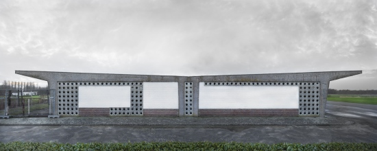 twin pavilions