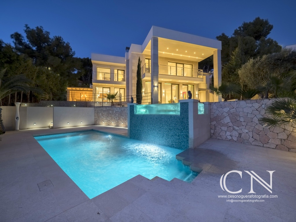 Villa Bendinat - Cesc Noguera Photographie, Lorsque la photographie est une passion, Architectural & Interior design photographer / Landscape Photography