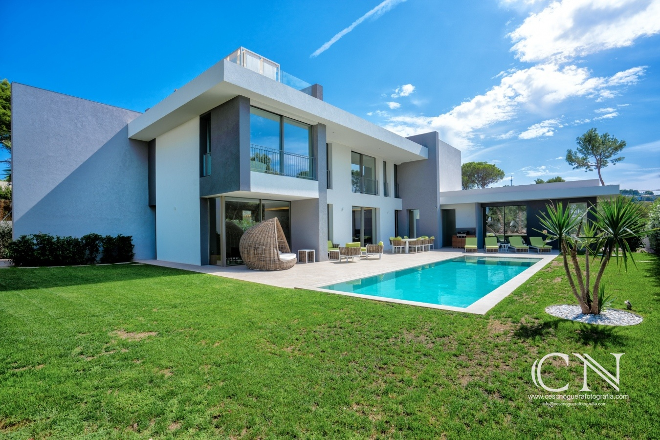 Villa moderna  Santa Ponça - Cesc Noguera Fotografia,  Architectural & Interior design photographer / Landscape Photography.