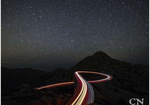 foto di notte