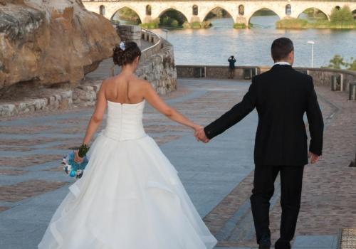 Santi y Esther boda