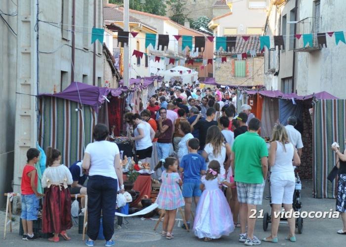 Mercado Medieval en el Maderal