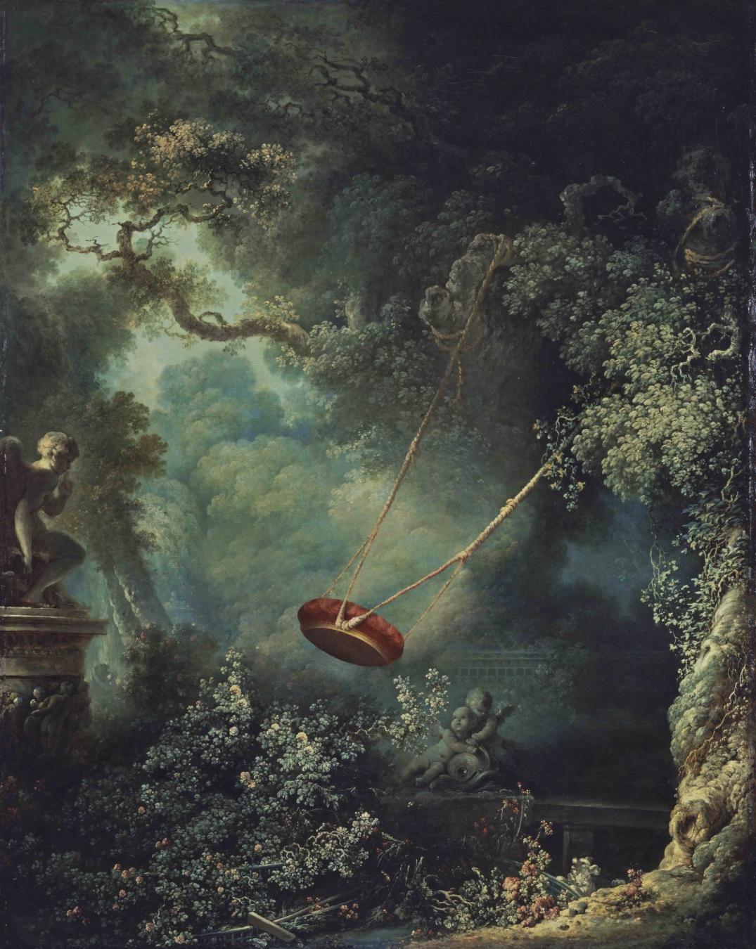 """""""El columpio"""" de Jean-Honore Fragonard - TIENDA - Tienda David Bokeh"""