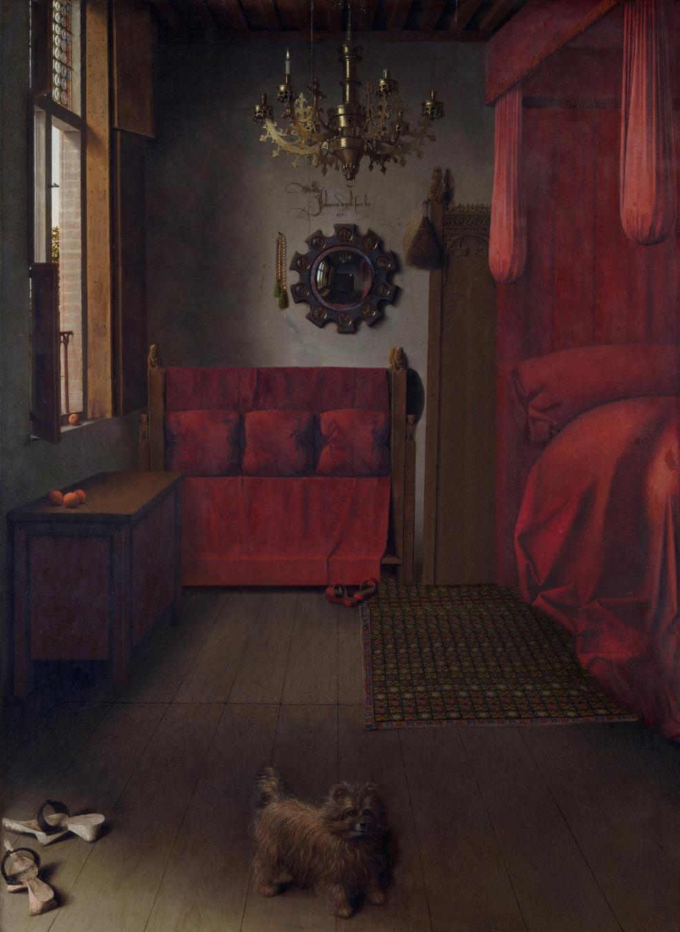 """""""El matrimonio Arnolfini"""" de Jan van Eyck - TIENDA - Tienda David Bokeh"""
