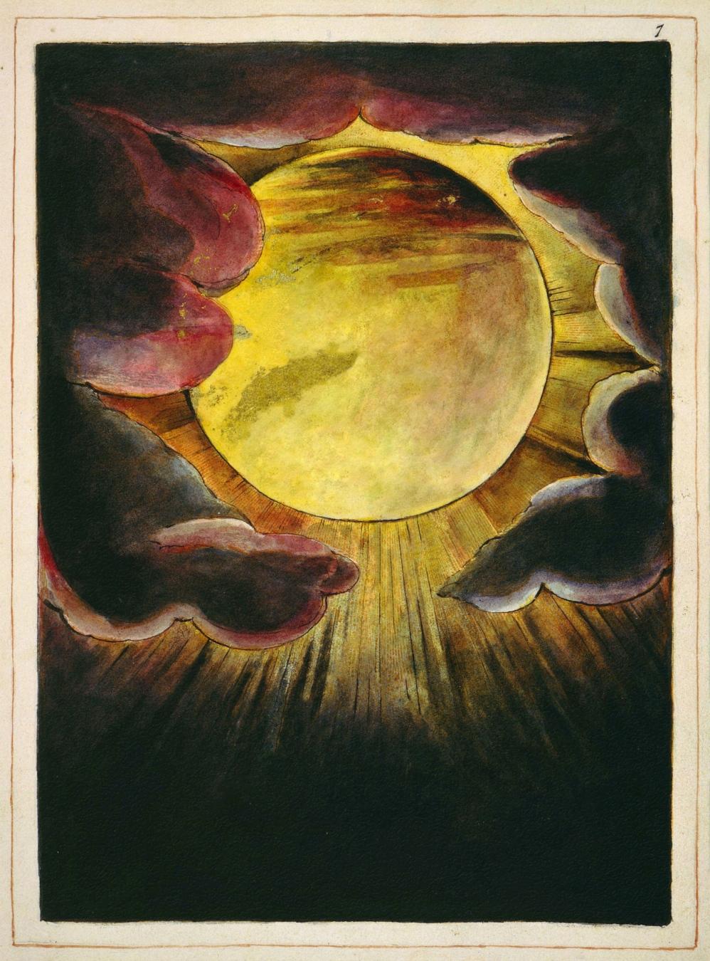 """""""El anciano de los días"""" de William Blake - TIENDA - Tienda David Bokeh"""