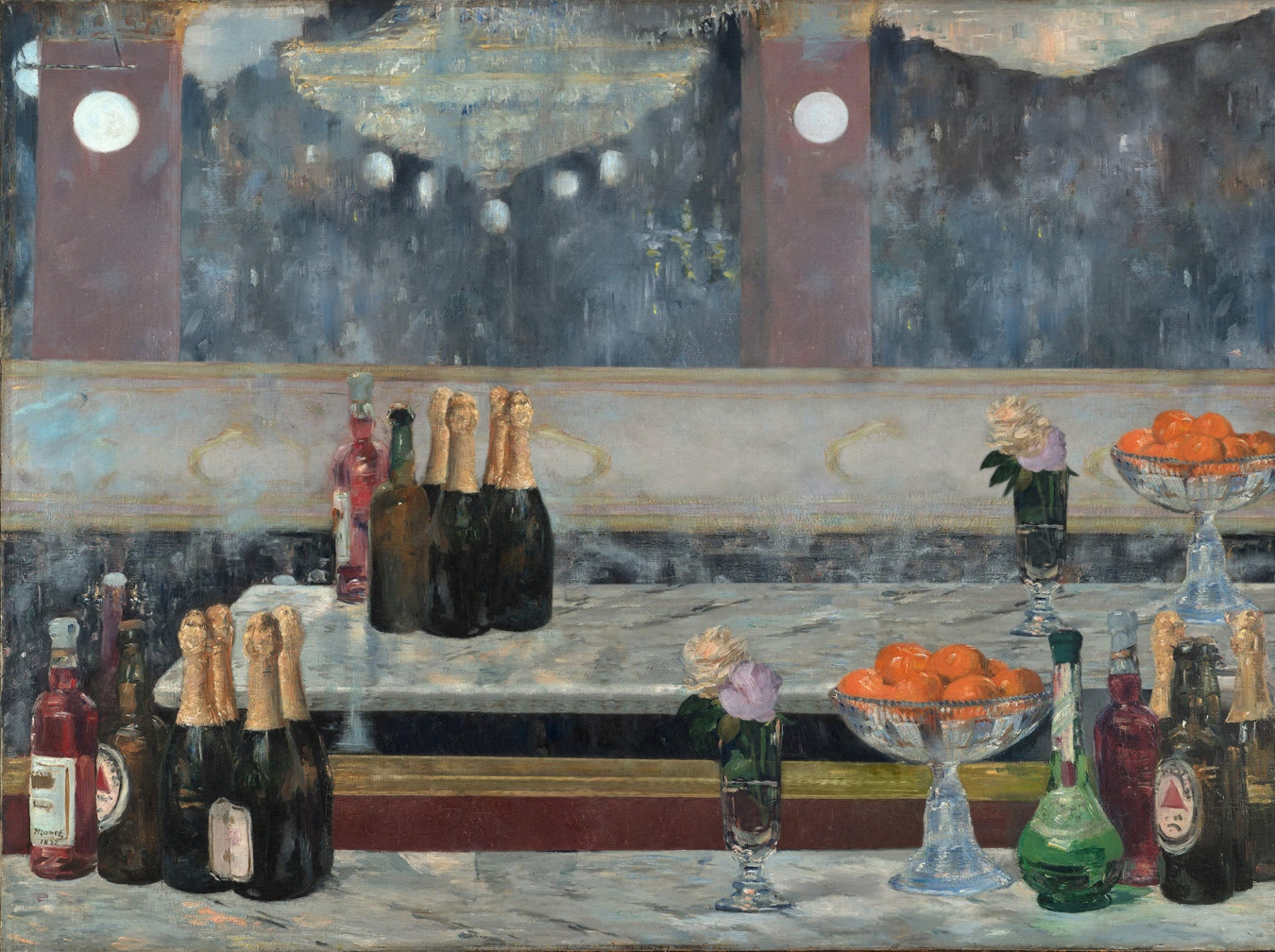 """Un bar aux Folies Bergère"" de Édouard Manet - TIENDA - Tienda David Bokeh"
