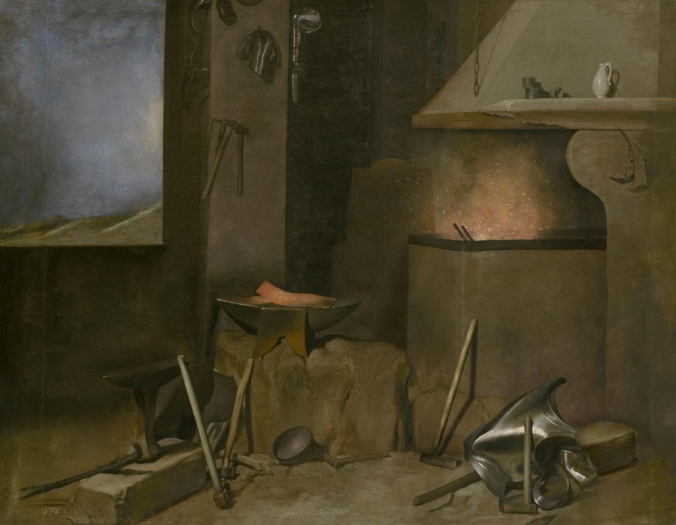"""La fragua de Vulcano"" de Velázquez - TIENDA - Tienda David Bokeh"
