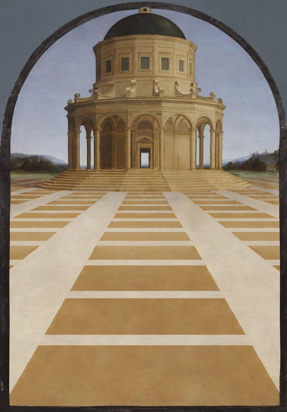 """""""Los desposorios de la Virgen"""" de Rafael Sanzio - TIENDA - Tienda David Bokeh"""