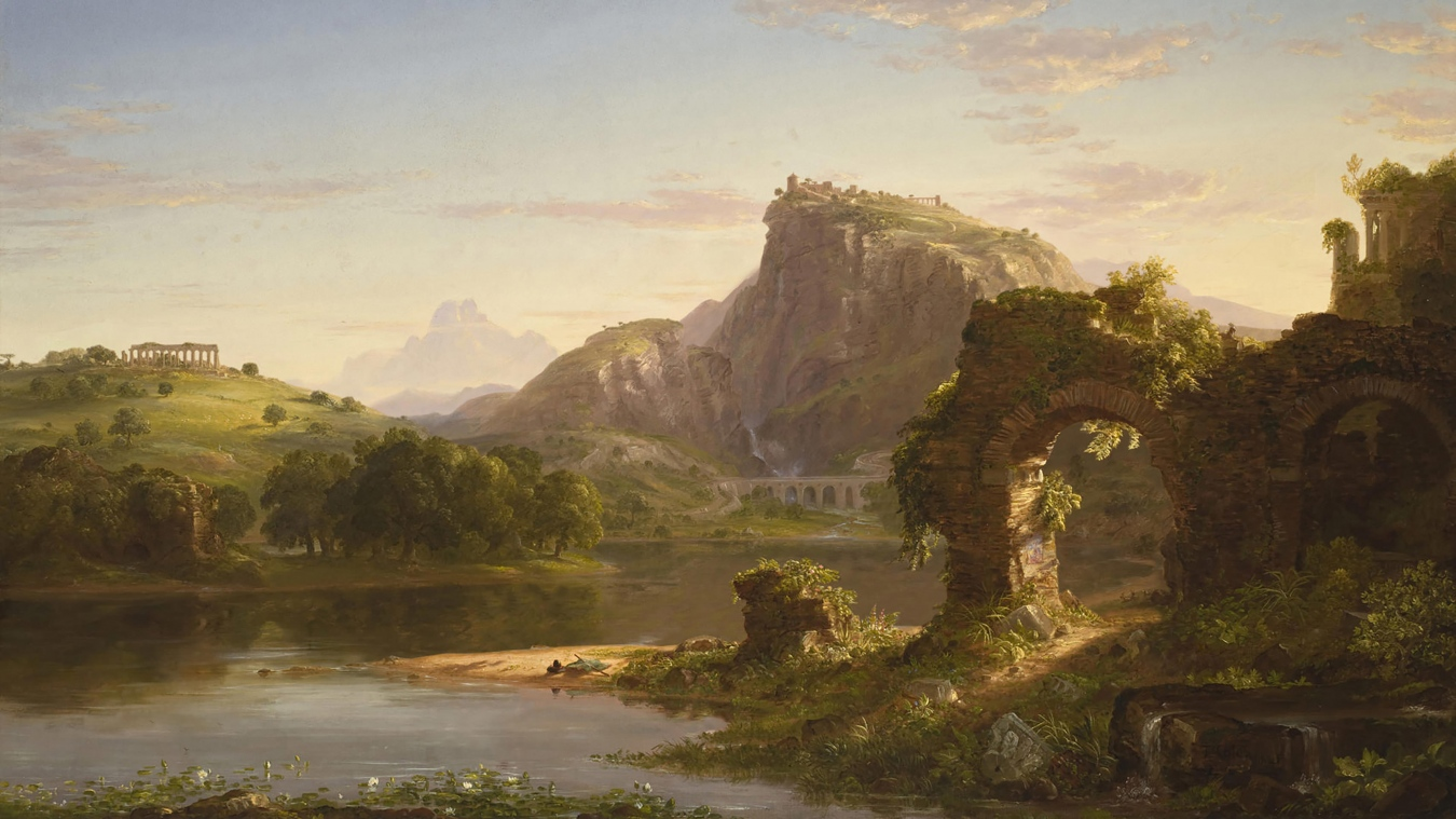 """""""L'Allegro"""" de Thomas Cole - TIENDA - Tienda David Bokeh"""