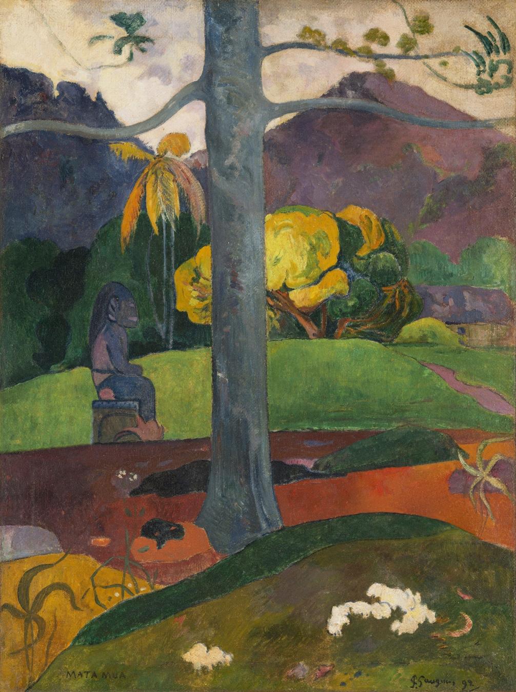 """""""Mata Mua (Érase una vez)"""" de Paul Gauguin - TIENDA - Tienda David Bokeh"""