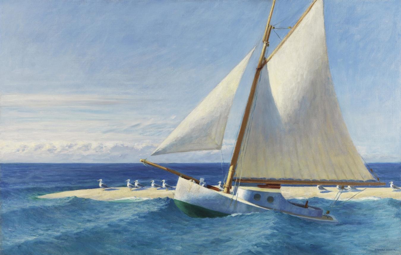 """El 'Martha Mckeen' de Wellfleet"" de Edward Hopper - TIENDA - Tienda David Bokeh"