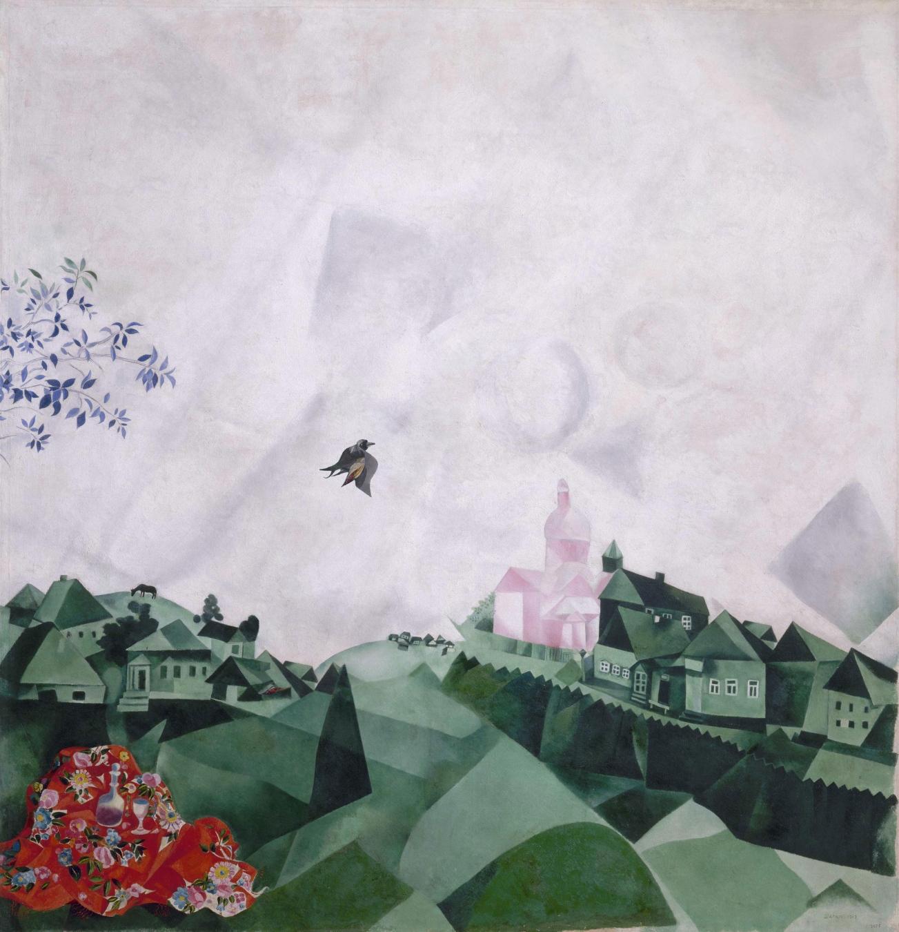 """""""The promenade ó El paseo"""" de Marc Chagall - TIENDA - Tienda David Bokeh"""