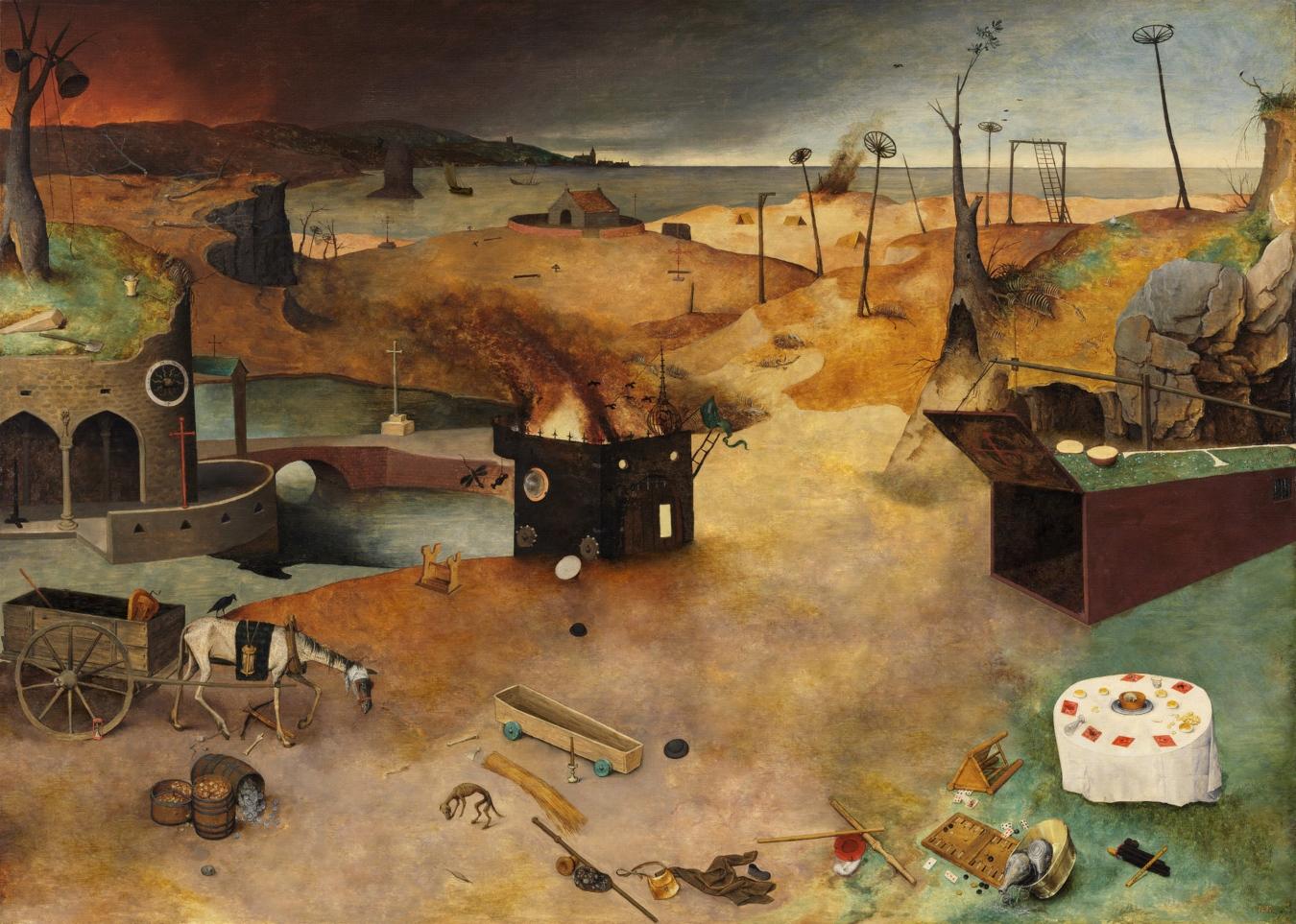 """""""El triunfo de la muerte"""" de Pieter Brueghel el Viejo - TIENDA - Tienda David Bokeh"""