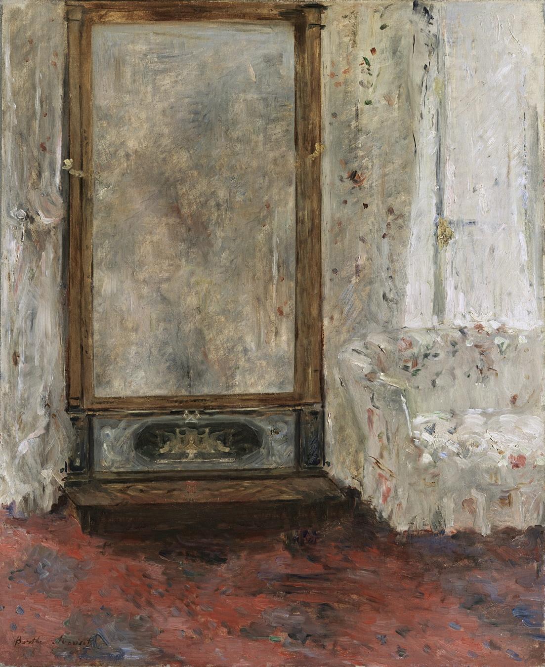 """""""El espejo psiqué"""" de Berthe Morisot - TIENDA - Tienda David Bokeh"""