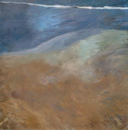 """Paseo a orillas del mar"" de Joaquín Sorolla"