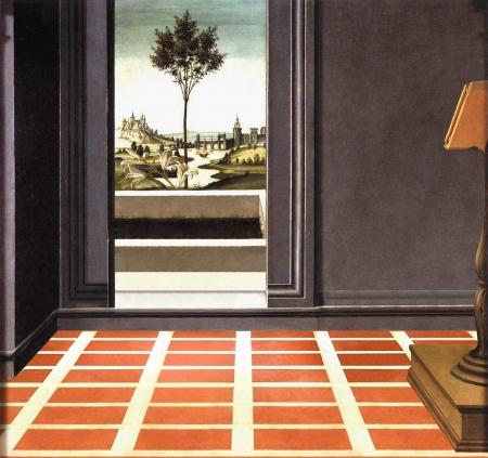 """""""Anunciación de Cestello"""" de Sandro Botticelli"""