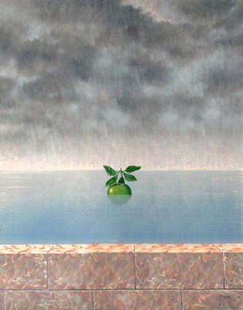"""El hijo del hombre"" de Magritte"