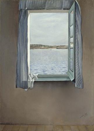 """""""Figura en una finestra"""" de Salvador Dalí"""