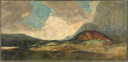 """""""Duelo a garrotazos"""" de Francisco de Goya y Lucientes"""