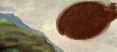 """""""La creación de Adán"""" de Michelangelo Buonarroti"""